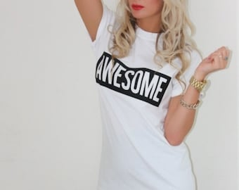 AWESOME T-shirt  / Premium Quality ! - Made in London / Fast Delivery to the Usa , Canada , Australia & Europe !