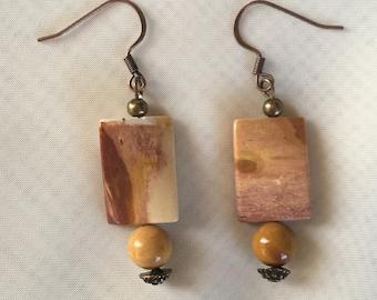 Mookaite Gemstone Earrings