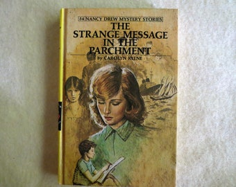 Nancy Drew Mystery Stories - The Strange Message in the Parchment - Carolyn Keene
