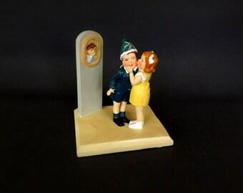 Vintage Figurine, Home Decor, Children Decor, Frances Tipton Hunter, Collectors Collectible Figurine, Limited Edition, Saturday Evening Post