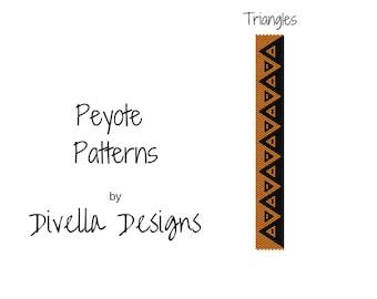Peyote Bracelet Pattern, Peyote Pattern, Beading Patterns