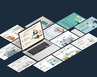 Mega Business Infographic Kit (PowerPoint)