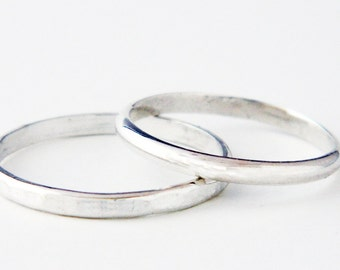 mixed metal jewelry mixed metal stacking rings solo silver stacking rings