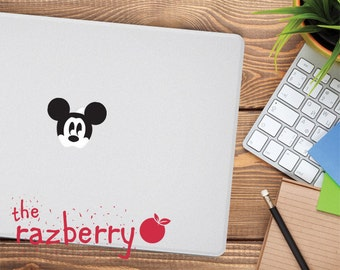 Mickey Mouse Macbook Decal Macbook Sticker Macbook pro sticker Disney sticker Disney Decal Disney Laptop stickers Macbook Vinyl Character