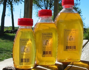Pure raw honey - 4 varieties (3 sizes)
