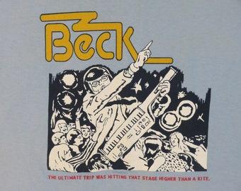 Vintage BECK 1995 tour T SHIRT original concert tee