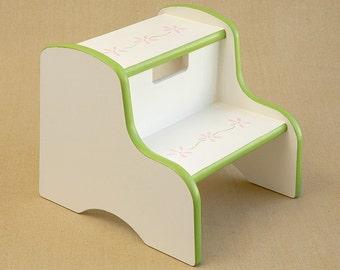flower border step stool