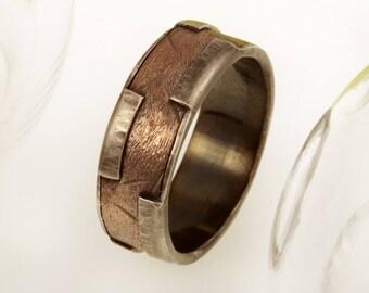 Men's ring, Men's engagement Ring, Men's wedding Band, Men's Wedding Ring, Anniversary ring, promise ring, Men's Gift, RS-1243