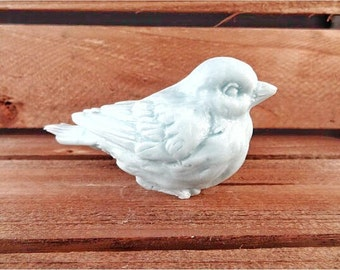 Bird Soap: Decorative 3D Soap Bar Shaped Like A Magpie Bird, You Choose Color & Scent
