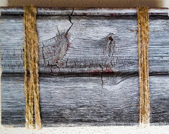 Barnwood Frame 7 x 5, Old Barn Wood, Recycled, RePurposed, Reclaimed, Vintage Farmhouse Wood Frames, Rustic, Primitive, Distressed, Antique!