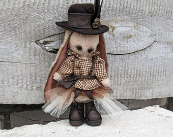 Steampunk Jenny Teddy bear