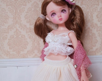 Summer Date Dress For Blythe/Licca/Redberry/Azone/Kiradoll