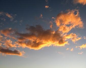 Meditation Art, Zen Decor, Cloud Photography, Zen Art, Sky Photography Print, Minimalist Photography, Fine Art Photography, Yoga Art