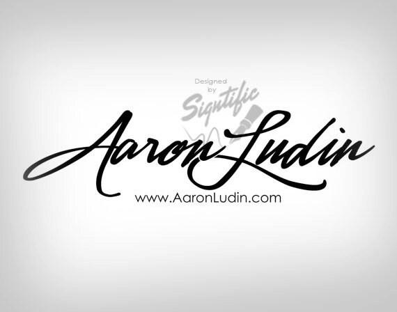 Name signature logo, FREE watermark, black and white signature, premade logo, calligraphy design, email signature, modern cursive name logo