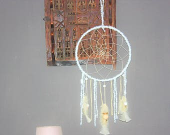 "Dream catcher Nature & Co ""spirit of enlightenment"" white & gold"