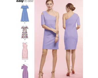 Simplicity Pattern 8638 Misses' Easy to Sew Knit Dresses