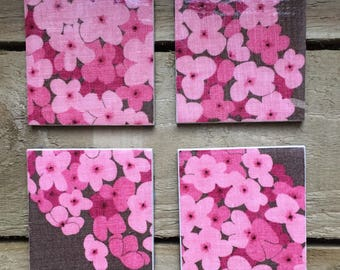 Floral Coasters (set of 4)