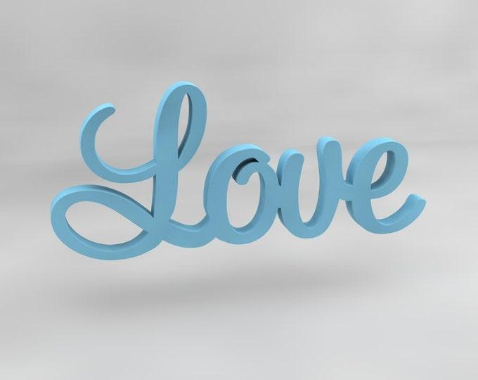 Love Wooden Wall Sign, Love Wall Decor. Love Wall Letters. Wooden wall sign. Love sign