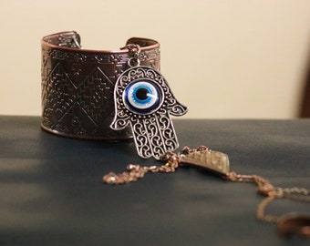 "T.H.O.T.S ""All Seeing Ring Cuff"""