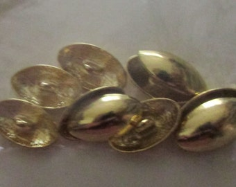 oval set buttons set  of 8