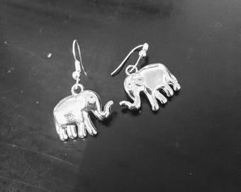 Elephant Love Earrings by Ally Cross