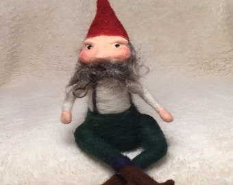 Kit: Needle Felted Gnome