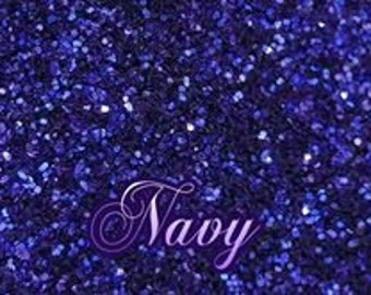 Navy Ultrafine Glitter