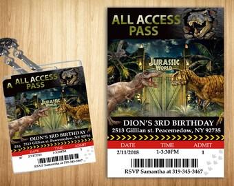 Jurassic World Access Pass!