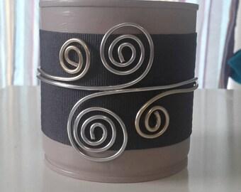 Decorative pot metal