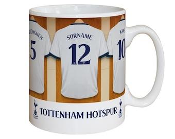 Personalised Tottenham Hotspur F.C. Dressing Room Mug