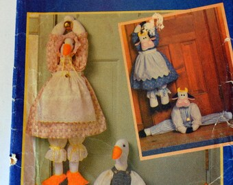 Vintage Sewing Pattern Butterick 4779 Draft Stoppers  Cows and Ducks Complete Uncut