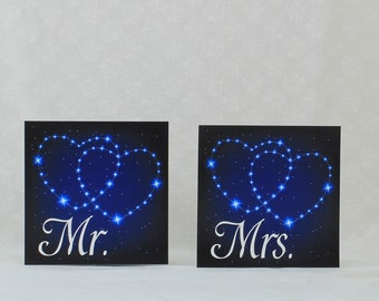 Star Constellation Mr and Mrs Sign