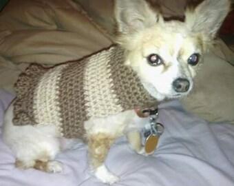 Crochet Pet Sweater