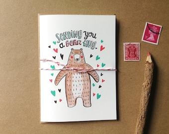 Bear Hug - Card