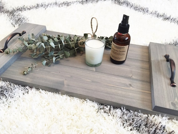 Rustic Wooden Tray, Wooden Tray, Rustic Decor, Farmhouse Tray, Rustic Home Decor, Farmhouse Decor, Serving Tray, Bed Tray, Sofa Tray