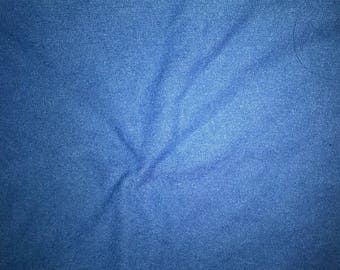 Blue Denim cotton and spandex color