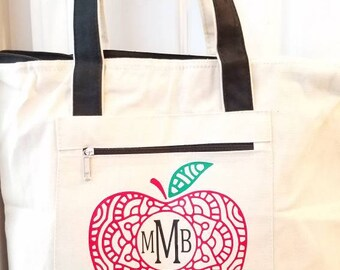 """Personalized 18"""" Tote Bag"""