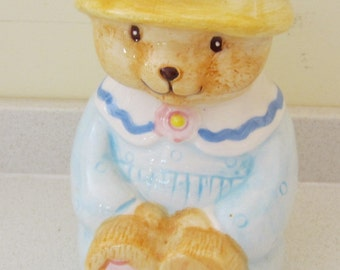 Vintage Mug Sweet Bear with Hat Coffee Cup Tea Cup Kitchen Decor