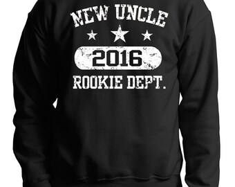 Uncle Sweatshirt New Uncle 2016 Sweater Gift For Uncle