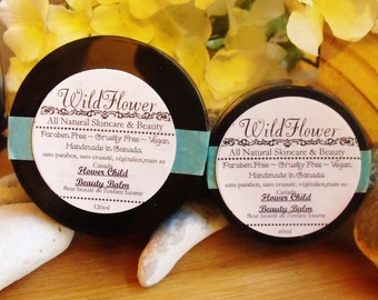 Flower Child Beauty Balm, Cruelty Free, Parben Free, Vegan, All Natural