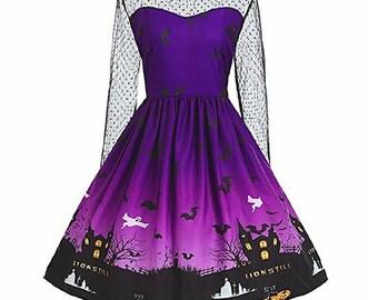 Vintage Style Halloween Dress
