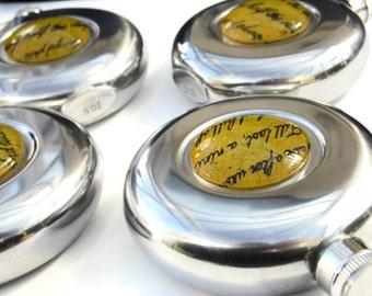 Kate Bush BTD Confetti Hip Flask Stainless Steel - unisex gift - LAST ONE - Ltd Ed 5oz Etsy Uk