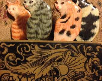 Kitty Cat Bookmarks