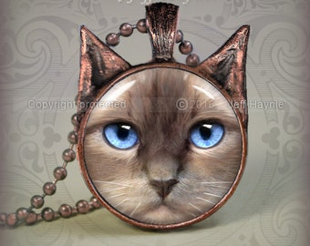RD3 Ragdoll Cat pendant