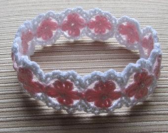 Instant Download Crochet Pattern #78 Baby Headband
