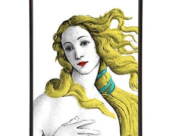 The Birth of Venus Pop Art Print after Botticelli