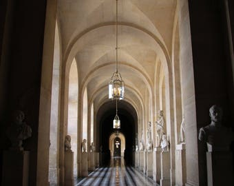 The Majestic Halls of Versailles -  Paris, Versailles, Art, Color and BW Photography & Home Decor, Wall Art, Prints, Matted Photographs