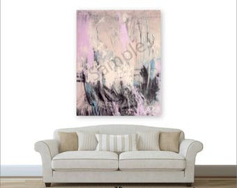 XXL Original Acrylic Textured Large Abstract Painting On Deep Canvas, Art Direct From Artist