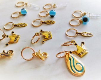 Hair Rings, Gold Hair Rings, Sweet 16 Gift, Evil Eye Hair Rings, Boho Hair Rings, Unique Hair Ring, Braid Rings, Rings for Hair, Hair Hoops
