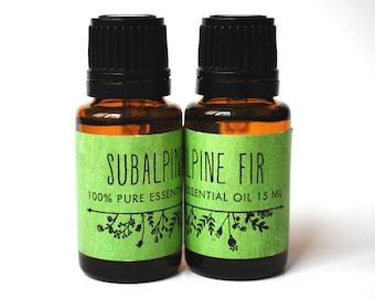Subalpine Fir Essential Oil (15ML)